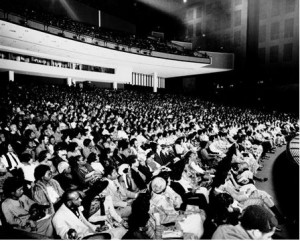Fashion Fair Audience in 1975, Chicago History Museum