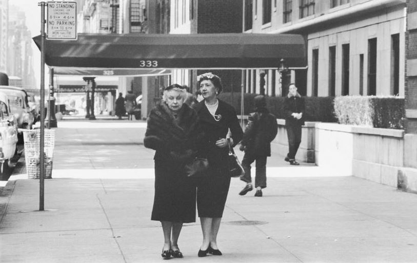 Edna Woolman Chase and Ilka Chase, photo by Alexander Liberman, 1946. Getty Images