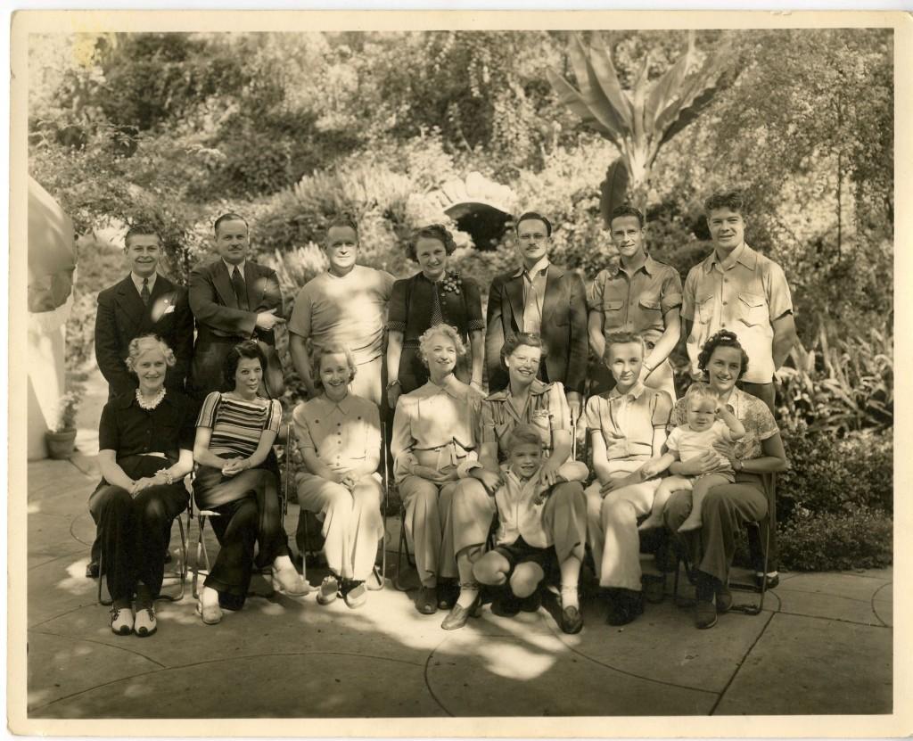 A California birthday party, 1940