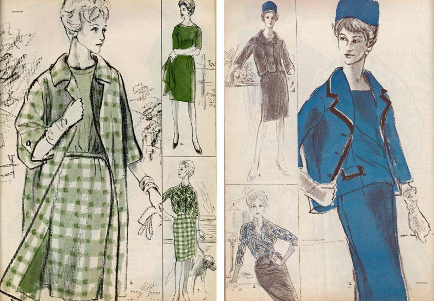 Vogue Pattern Book, August/September 1961