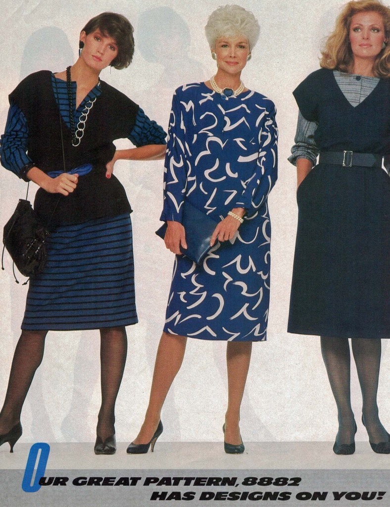 Vogue Pattern Book, January/February 1984