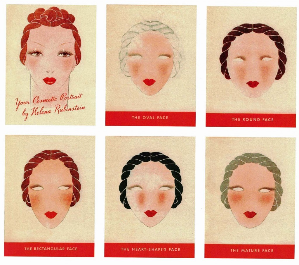 Your Cosmetic Portrait by Helena Rubinstein, 1935 in Beauty is Power by Mason Klein, 2015