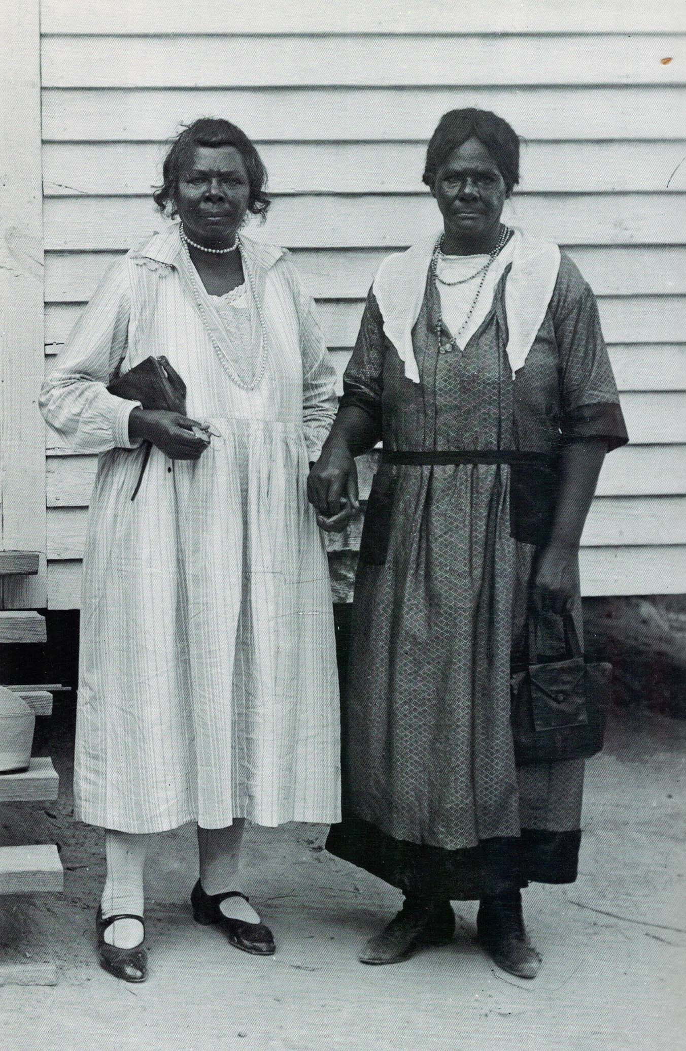 Unidentified rural churchgoers, 1920s