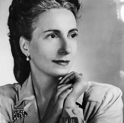 Publicity Portrait, ca. 1945. Special Collections at FIT