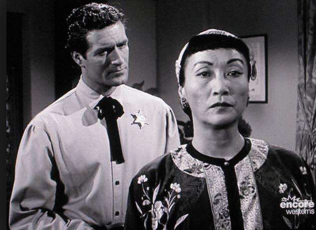 As China Mary on the Wyatt Earp show, 1960