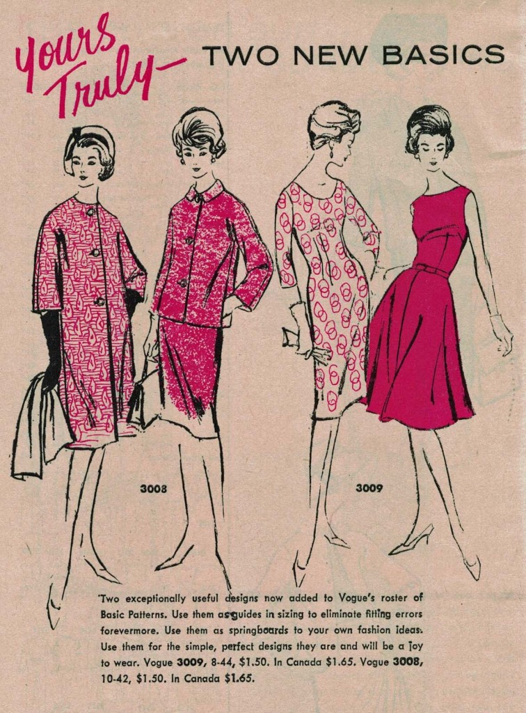 Vogue Pattern News, May 1, 1962. Click to enlarge