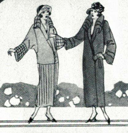 Coats from 1924, Stella Blum, Everyday Fashion of the Twenties