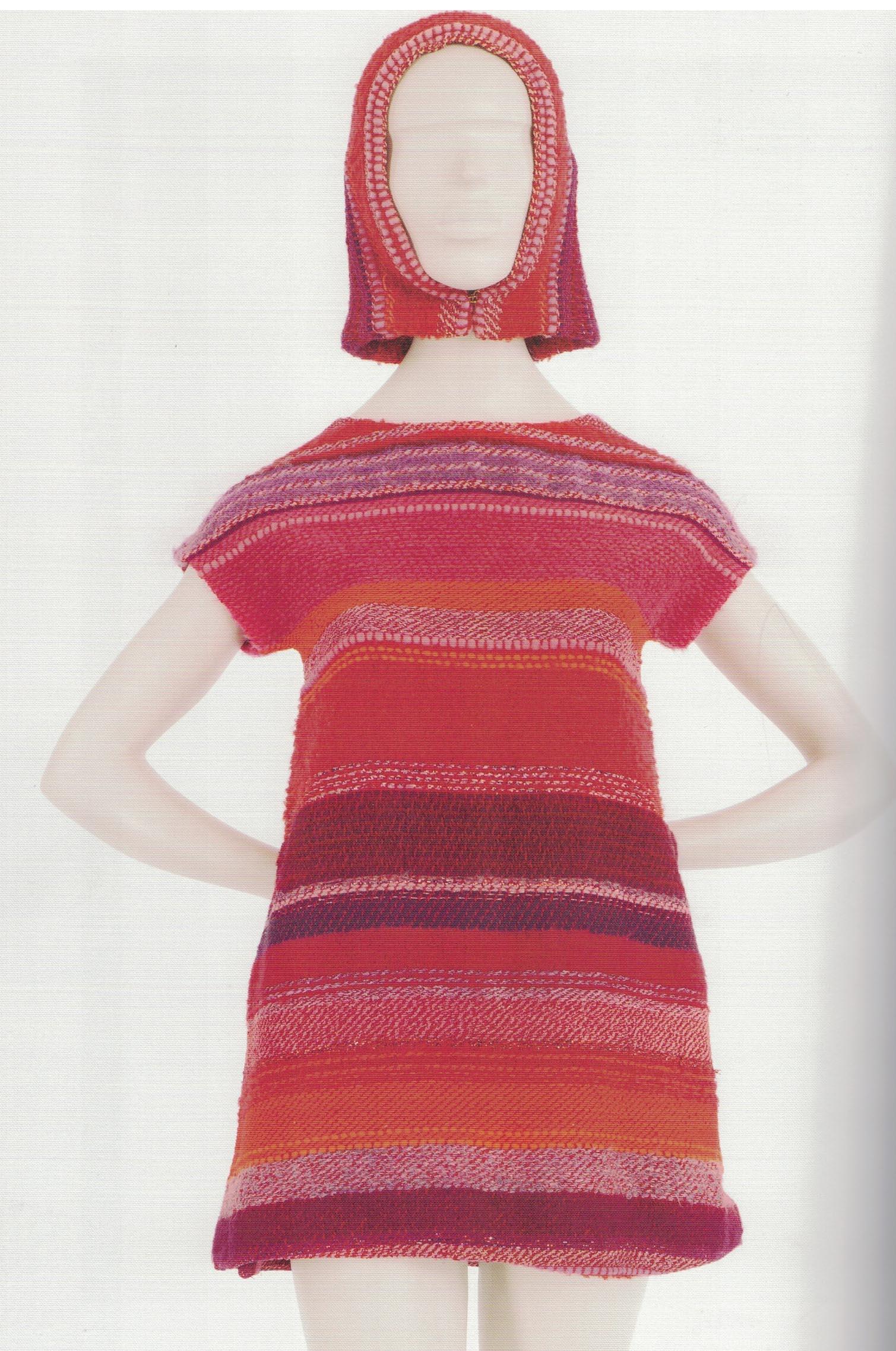 A Cashin dress from Liebes fabric, 1960s
