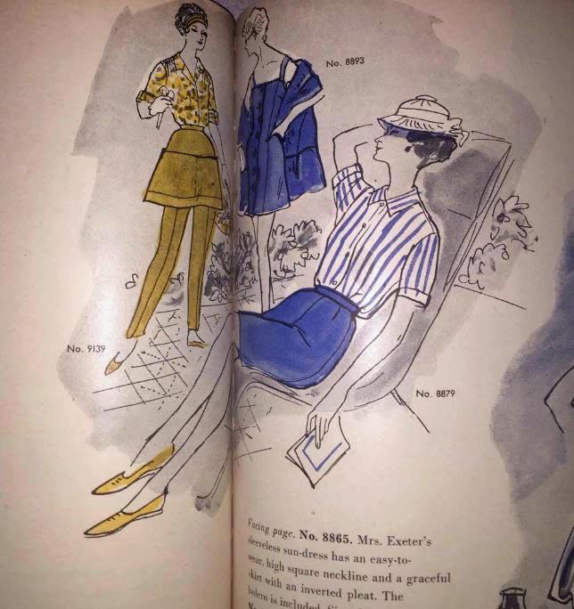 Vogue Pattern Book, June/July 1955