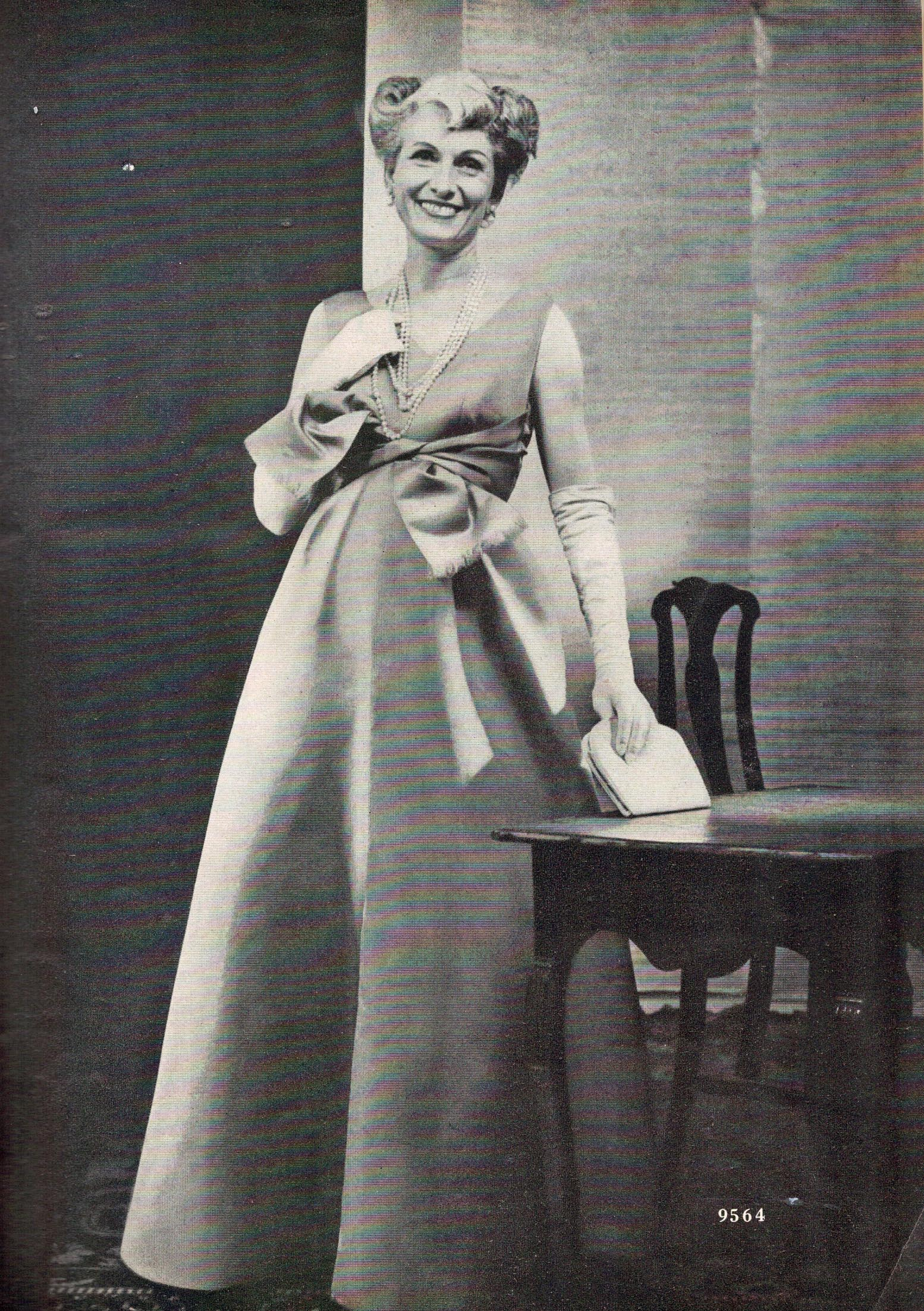 Vogue Pattern Book, October/November 1958