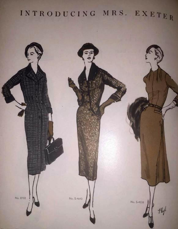 Vogue Pattern Book, October/November 1955